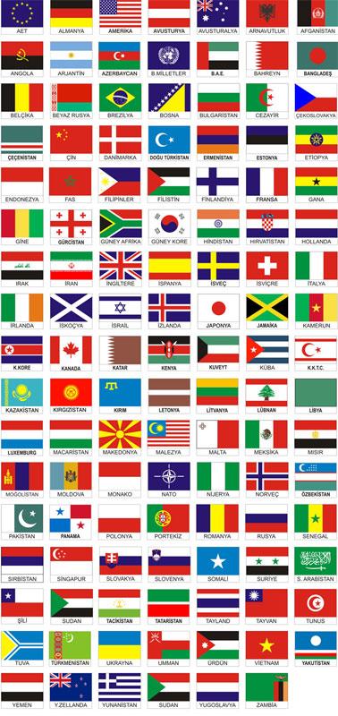 ülke bayrağı
