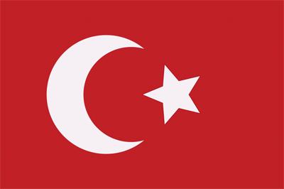 5 köşeli türk bayrağı