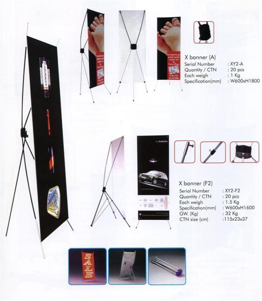 x banner standı