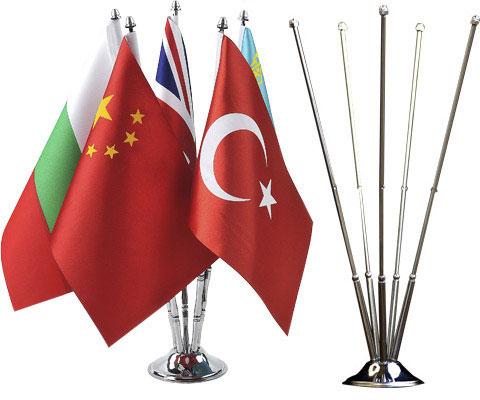 beşli masa bayrağı