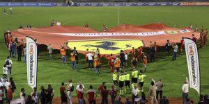 Koregorafi takım bayrağı dev forma orta saha etkinlikleri