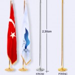 makam bayrağı direği