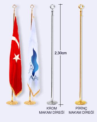 makam odası bayrak direkleri