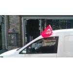 araç konvoy bayrağı