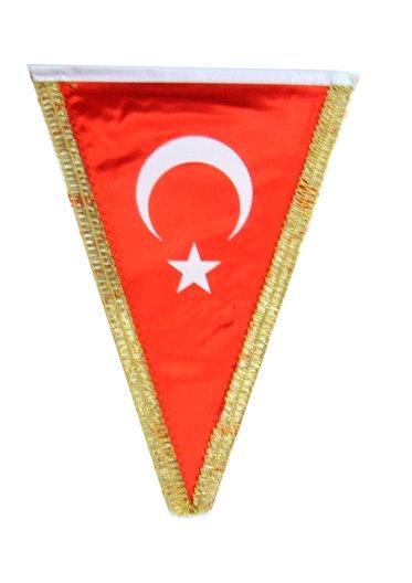 üçgen bayrak hatıra bayrağı flama